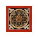 Thangka Mandala OM 32 x 32 cm