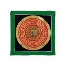Thangka Mandala Vishvadorje 26 x 26 cm
