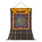 Thangka - Mandala OM 90 x 112 cm