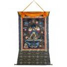 Thangka Chakrasambhava 114 x 159 cm