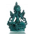 grüne tara  buddha statue