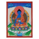 Thangka - Medizinbuddha 29 x 40,5 cm