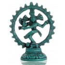 Nataraja Statue türkis 11,5 cm