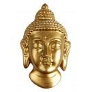 Buddhakopf Magnet golden 7 cm