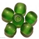 Glasperlen grün 14mm - 4 Perlen
