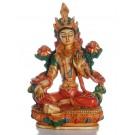 Grüne Tara 20 cm Statue bemalt