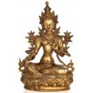 Grüne Tara 32 cm Messing Statue