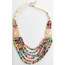 Halskette elefanten perlen ethno schmuck
