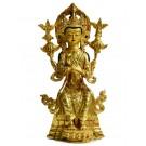 Maitreya 24 cm vollfeuervergoldete Statue