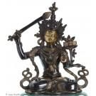 Manjushri - Messing 40cm