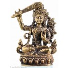 Manjushri - Messing 4,3cm