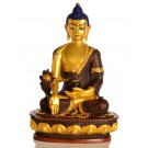 Medizinbuddha 20 cm Statue Resin golden