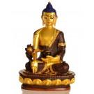 Medizinbuddha 20 cm Statue Resin golden