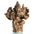 Statue mini Ganesh sitzend 2
