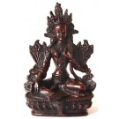 Grüne Tara Statue 15 cm Resin