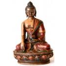 Akshobhya  / Shakyamuni 11,5 cm Buddha Statue Resin bemalt