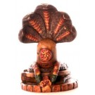 Shiva Lingam 5,7 cm Resin bemalt