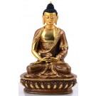 Amitabha - Dhyani Buddha 15 cm teilfeuervergoldet