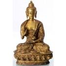 Amoghasiddhi 20 cm Buddha Statue Msssing zisiliert
