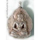 Silberschmuckanhänger Amitabha  25 mm