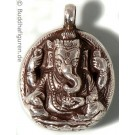Silberschmuckanhänger Ganesh  25 mm