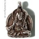 Silberschmuckanhänger Guru Rimpoche - Padmasambhava  25 mm