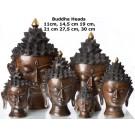 Buddhakopf  11 - 30 cm