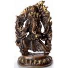 Ganesh dancing - 15 cm