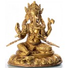 Ganesh sitting - 20 cm
