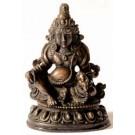 Jambhala - Kubera - Mini-Buddha Dunkel 5,5cm