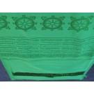 Khata, Kata - Zeremonienschal grün