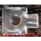 Shiva-Lingam Bergkristall  15X21 mm