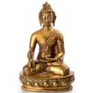 Medizinbuddha 32 cm Statue Messing 1