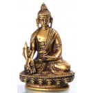 Medizinbuddha 8 cm Messing