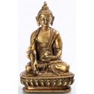 Medizinbuddha 14,5 cm Messing