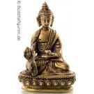Medizinbuddha 9,5 cm Messing