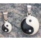 Silberschmuckanhänger Ying und Yang