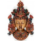 Tara Maske 22 cm Resin bemalt