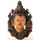 Tara Maske 29 cm Resin bemalt