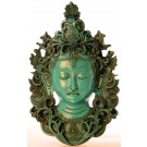 Tara Maske 29 cm Resin türkis
