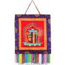 Wandbehang - Kalachakra 45 cm x 45 cm
