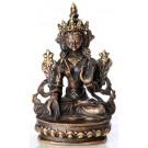 Weiße Tara 15 cm Statue