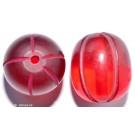 Resin-Perlen rot 24mm - 1 Perle