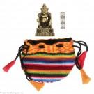 Kubera - Mini-Buddha Hell 4,1cm