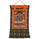 Thangka Medizinbuddha handgemalt