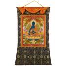 Thangka Medizinbuddha 95x132 cm
