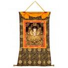 Thangka - Chenresig  golden 78 cm x 106 cm