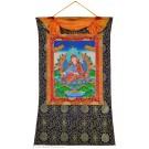 Thangka  Padmasambhava - Guru Rinpoche 72 x 112 cm