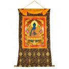 Thangka Medizinbuddha 82 x 114 cm