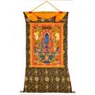 Thangka Medizinbuddha 91 x 130cm